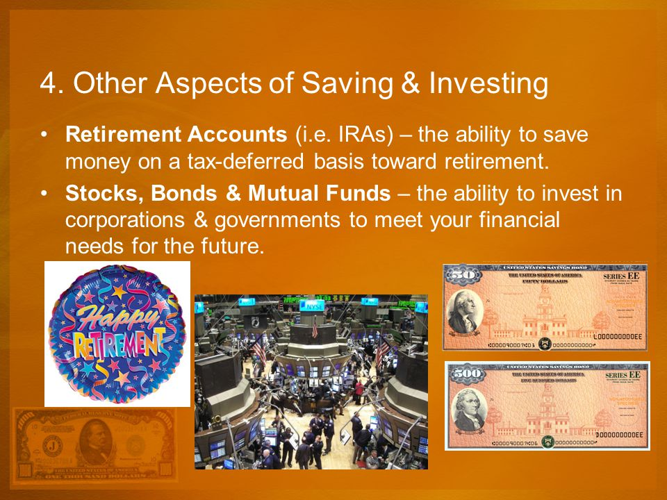 4. Other Aspects of Saving & Investing