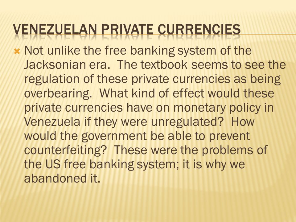 Venezuelan private currencies