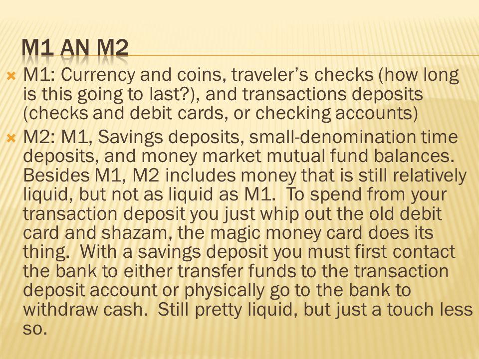 M1 an M2