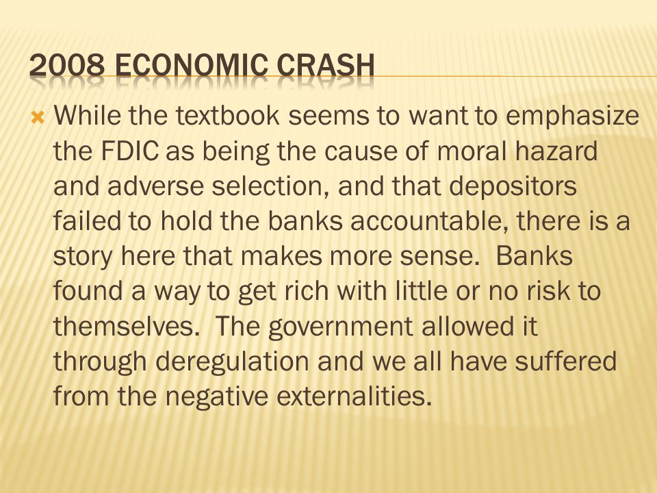 2008 economic crash