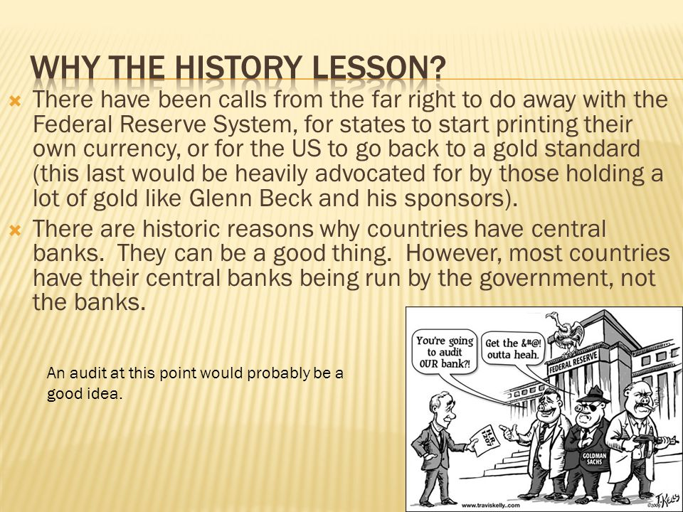 Why the history lesson