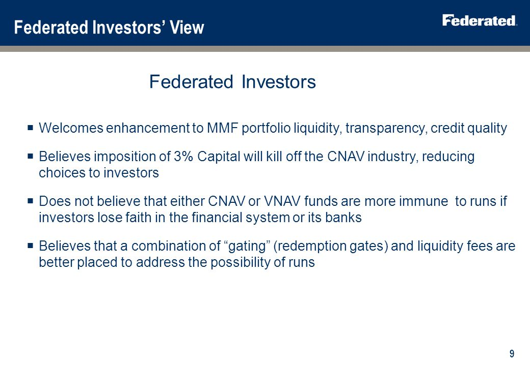 What is Federated Investors doing