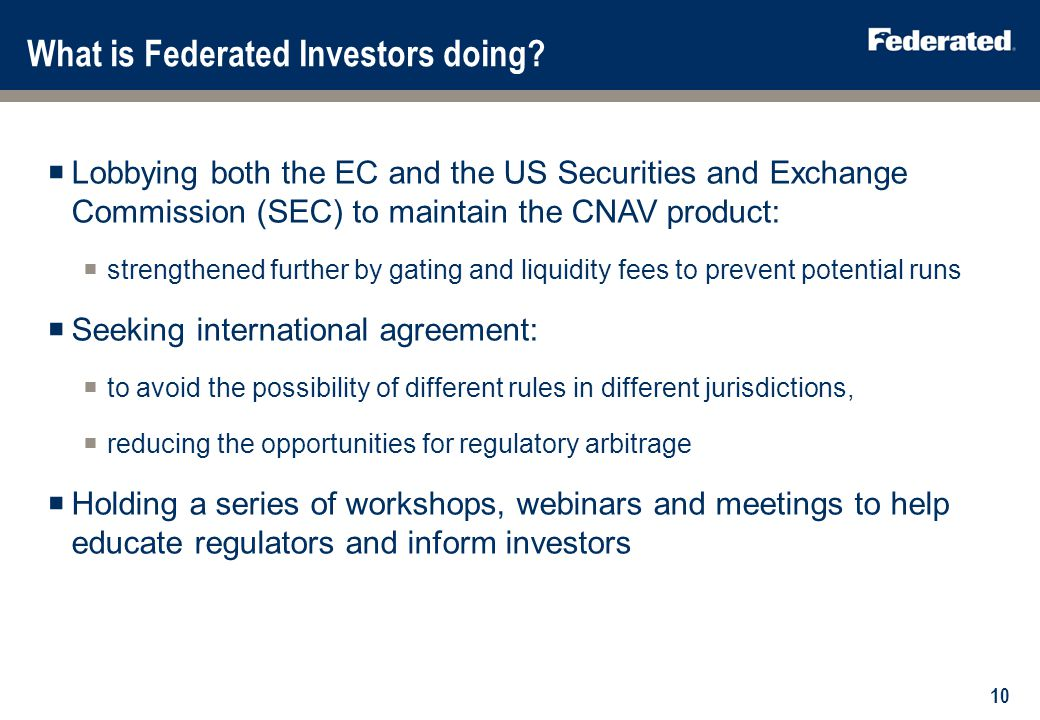 What can investors do 1. To maintain the CNAV choice: