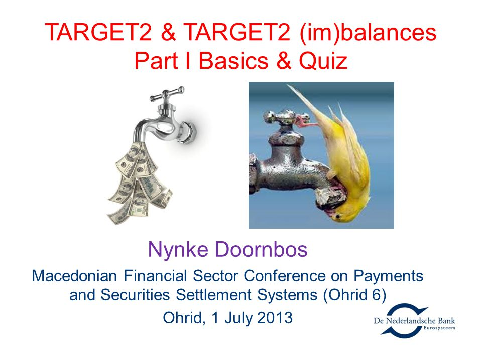 TARGET2 & TARGET2 (im)balances