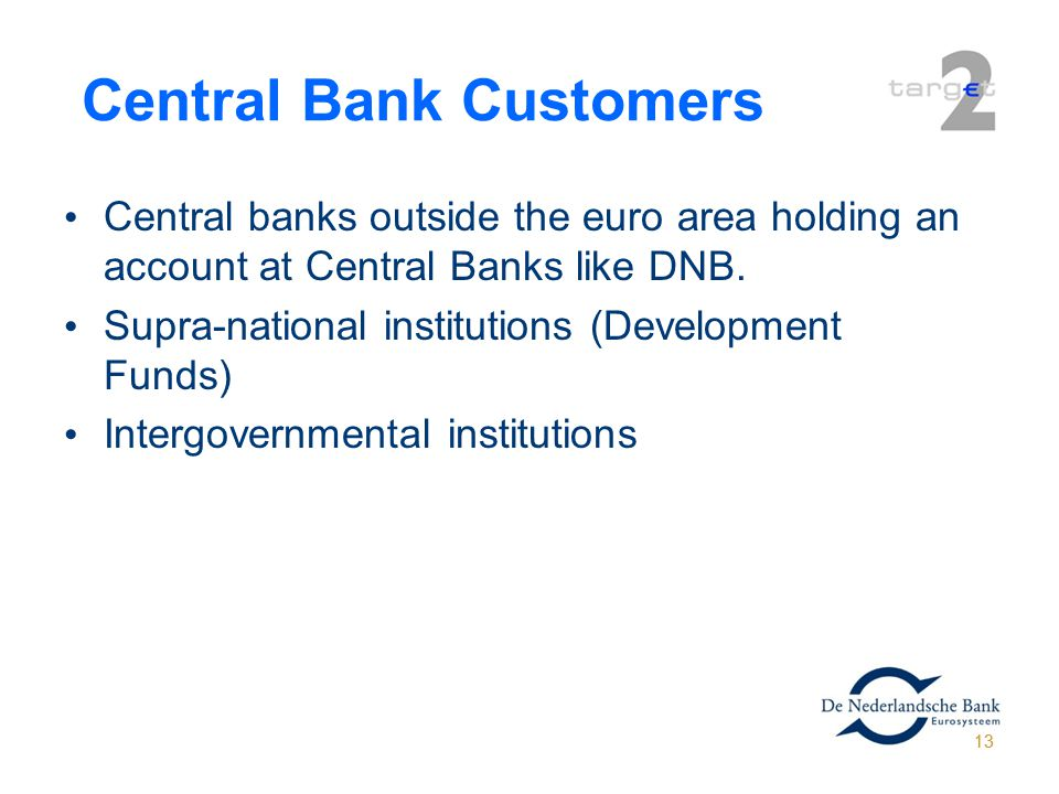 Central Bank Customers
