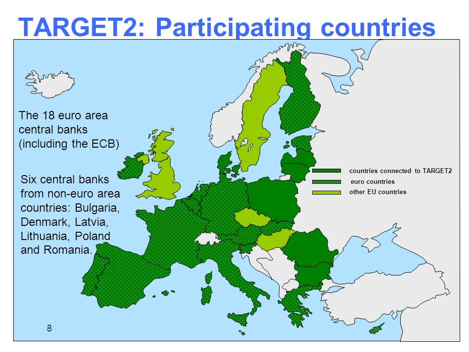 TARGET2: Participating countries