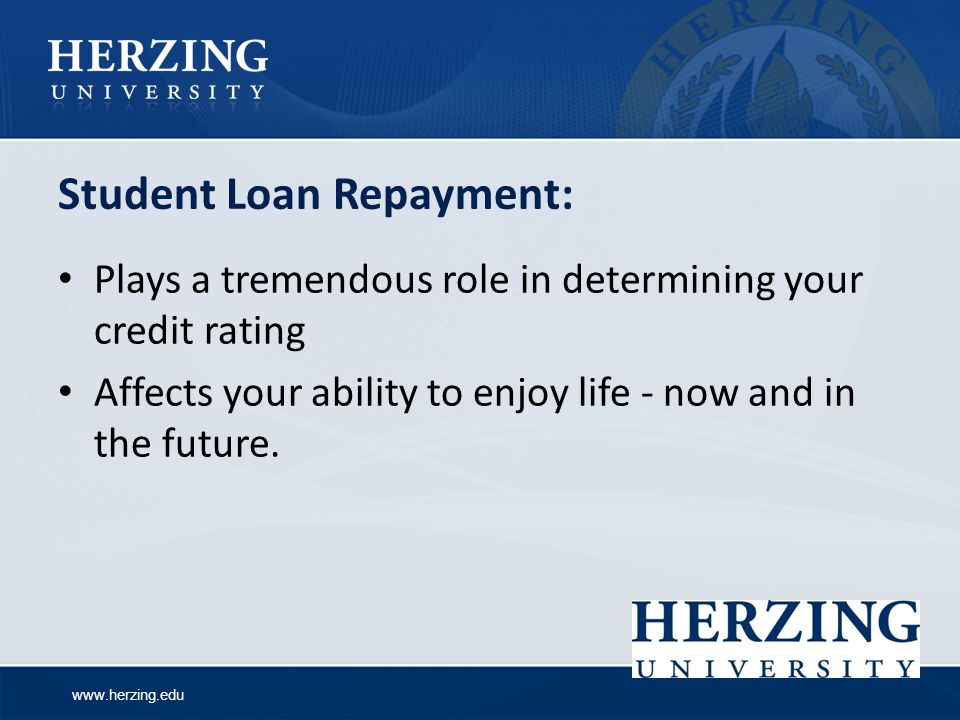 Student Loan Repayment: