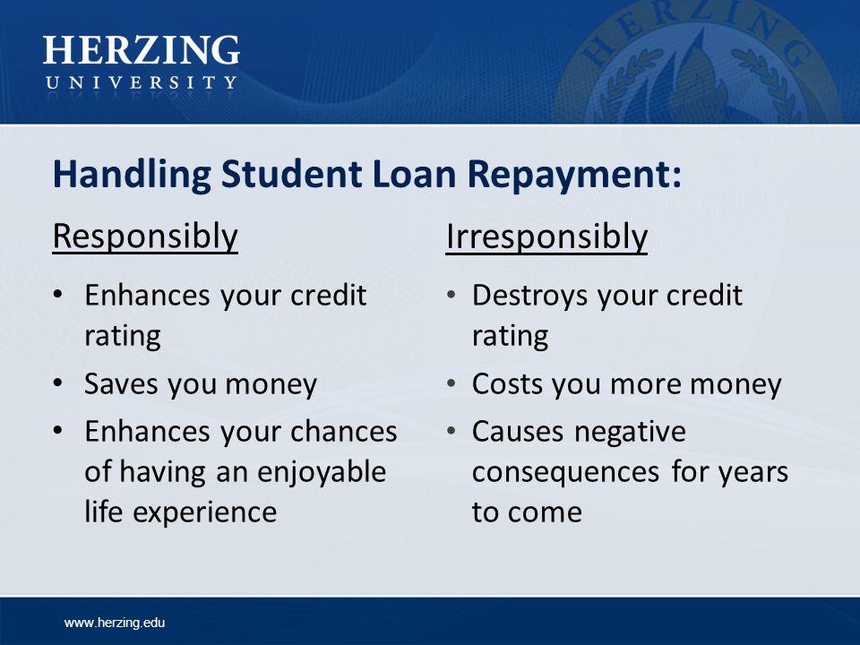 Handling Student Loan Repayment:
