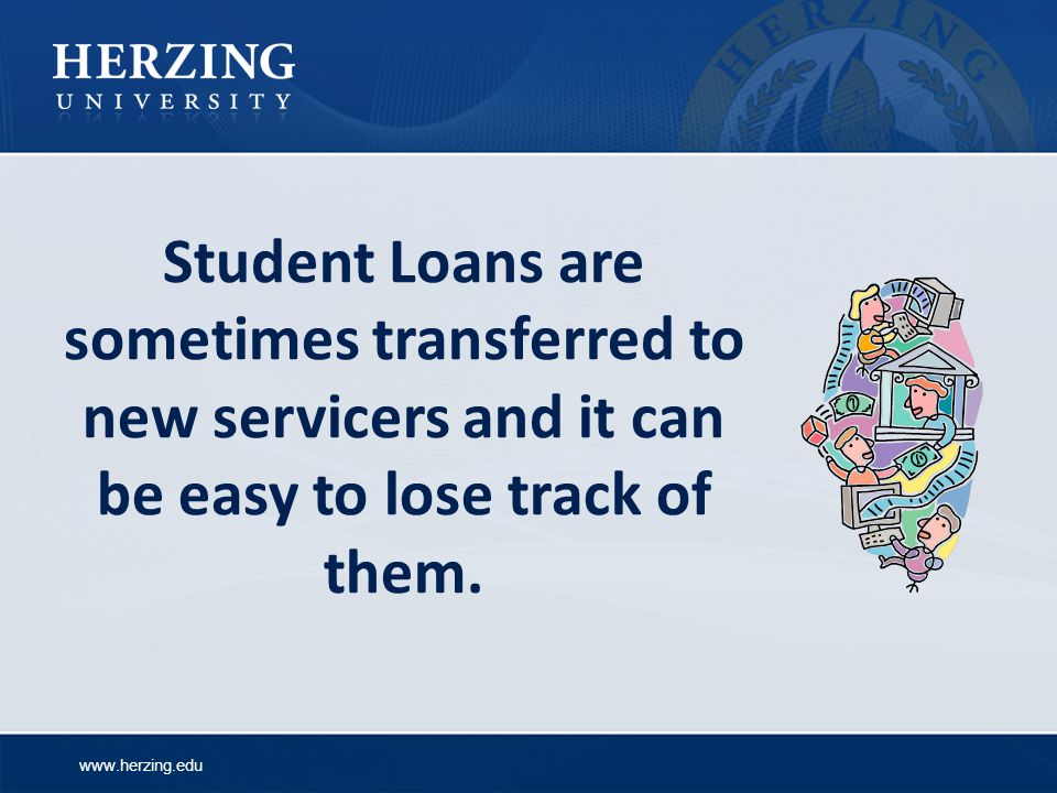 Student Loans are sometimes transferred to new servicers and it can be easy to lose track of them.