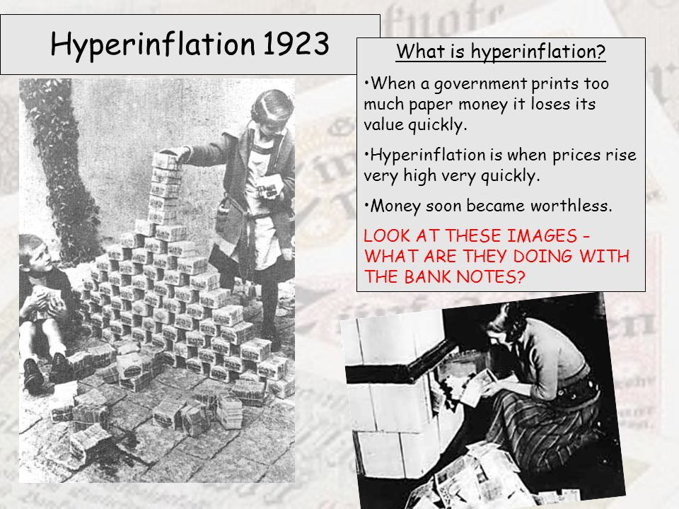 What is hyperinflation