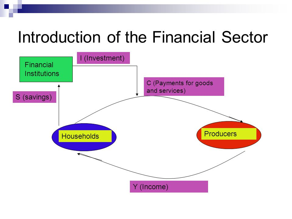 Introduction of the Financial Sector