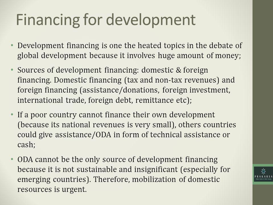 Financing for development