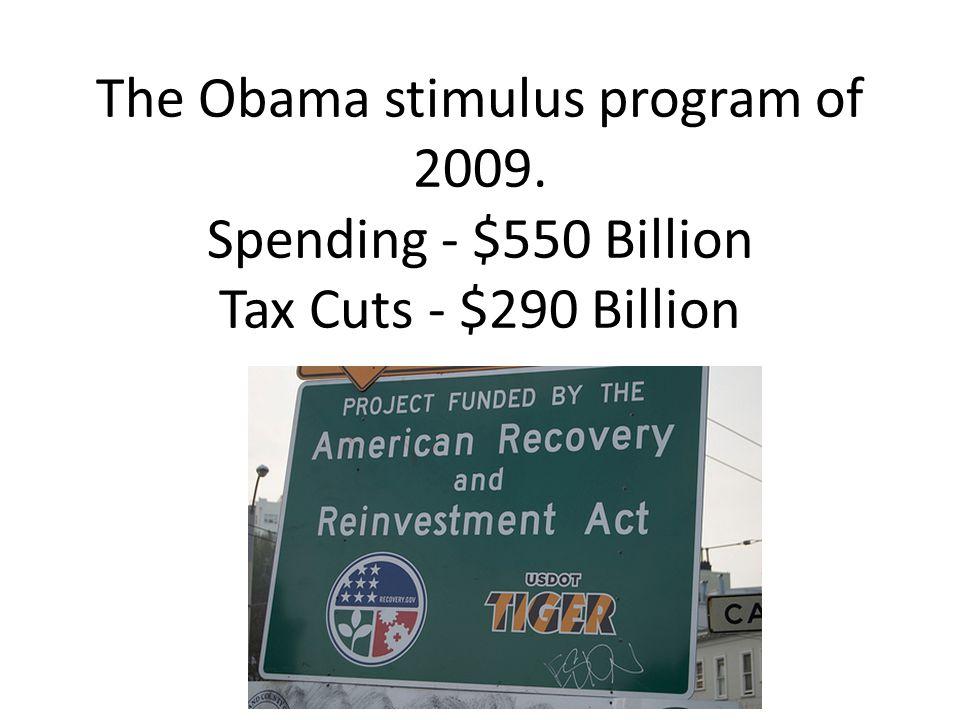 The Obama stimulus program of 2009