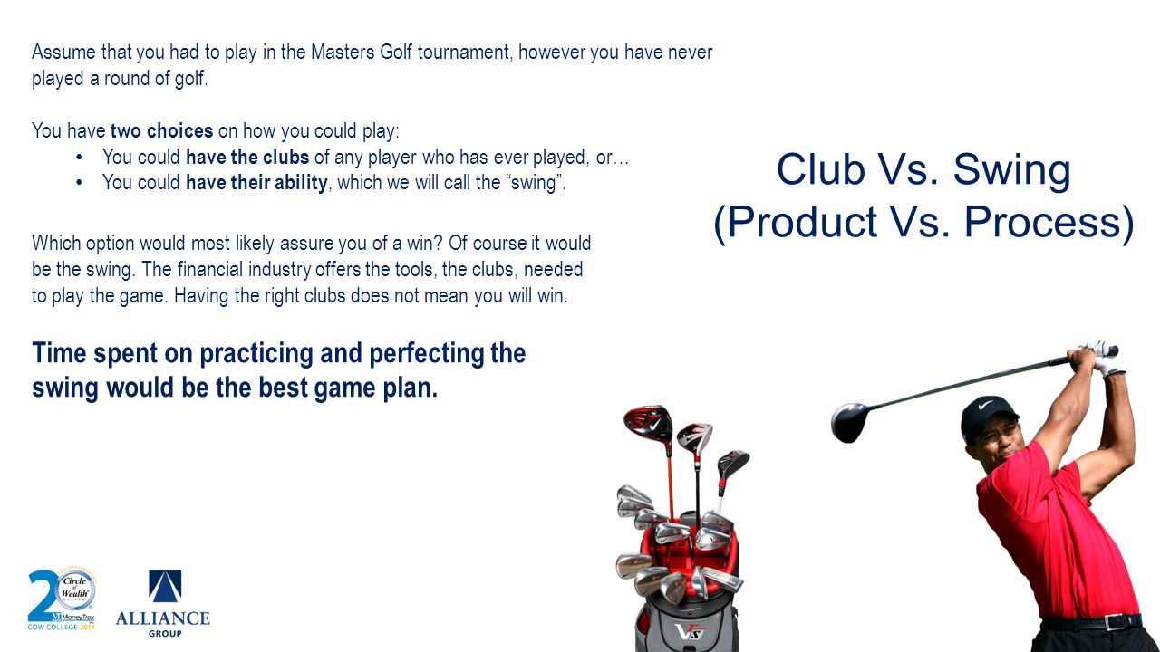 Club Vs. Swing (Product Vs. Process)