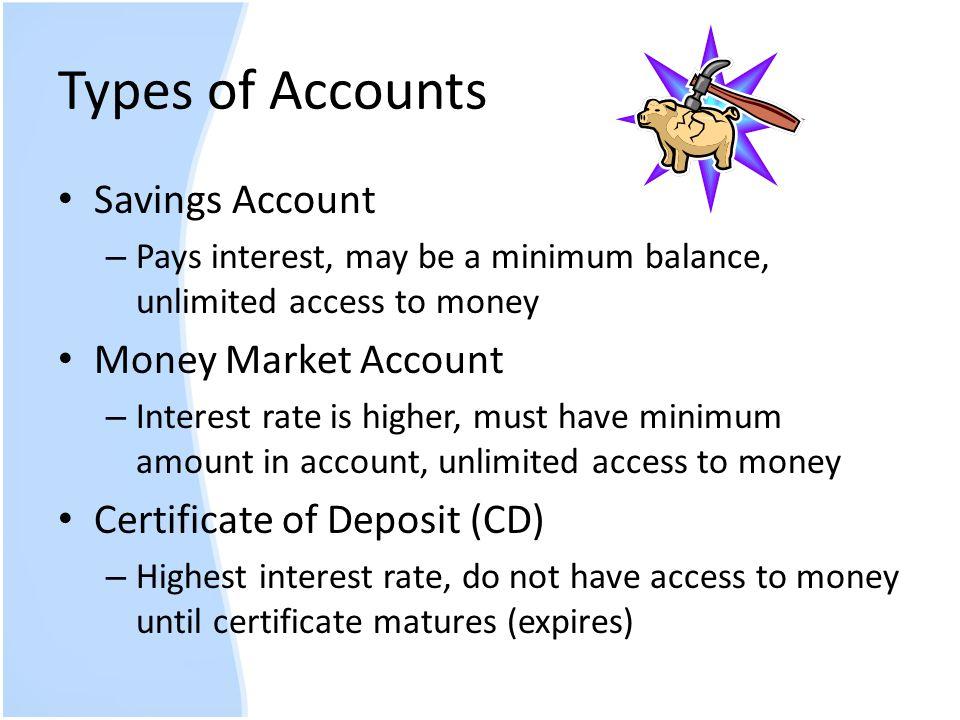 Best interest rates money market account : Stock market