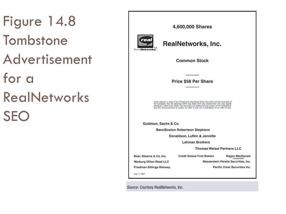 Figure 14.8 Tombstone Advertisement for a RealNetworks SEO