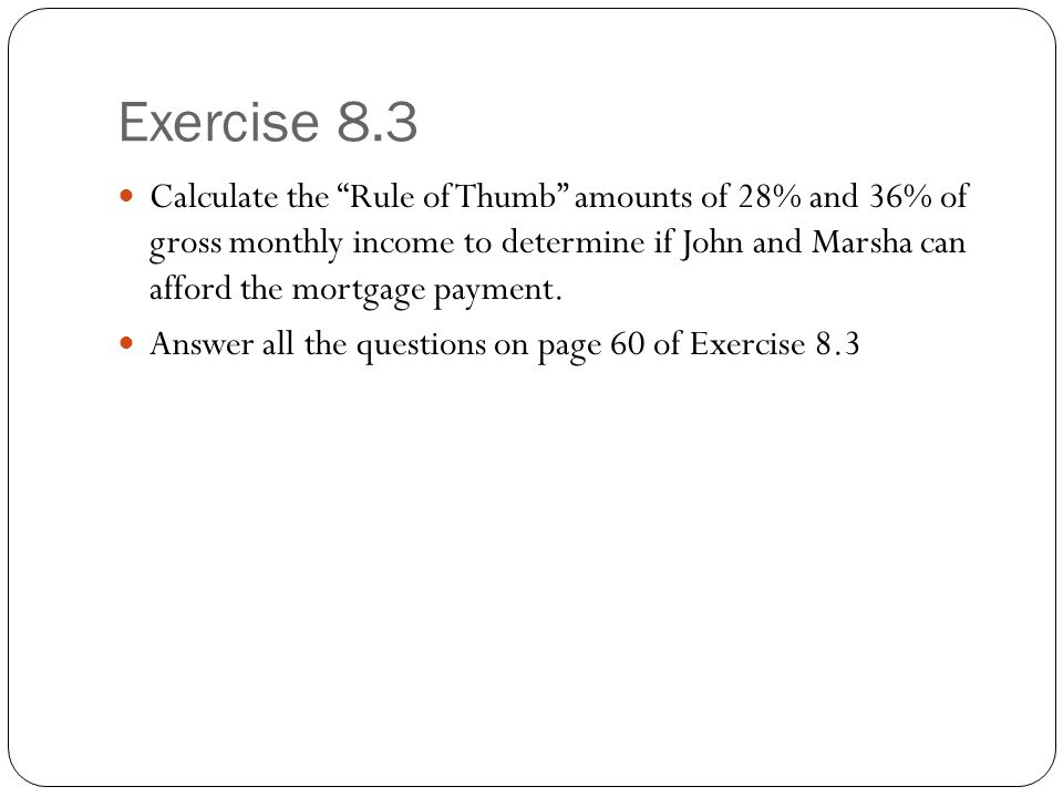 Exercise 8.3