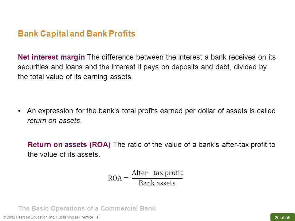 Bank Capital and Bank Profits