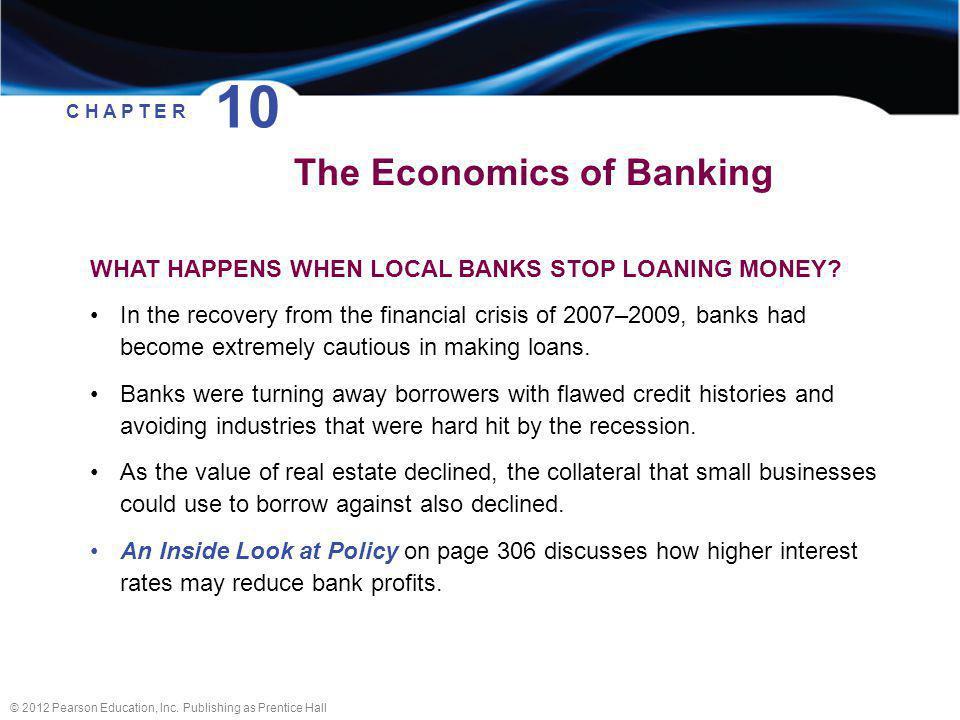 10 The Economics of Banking