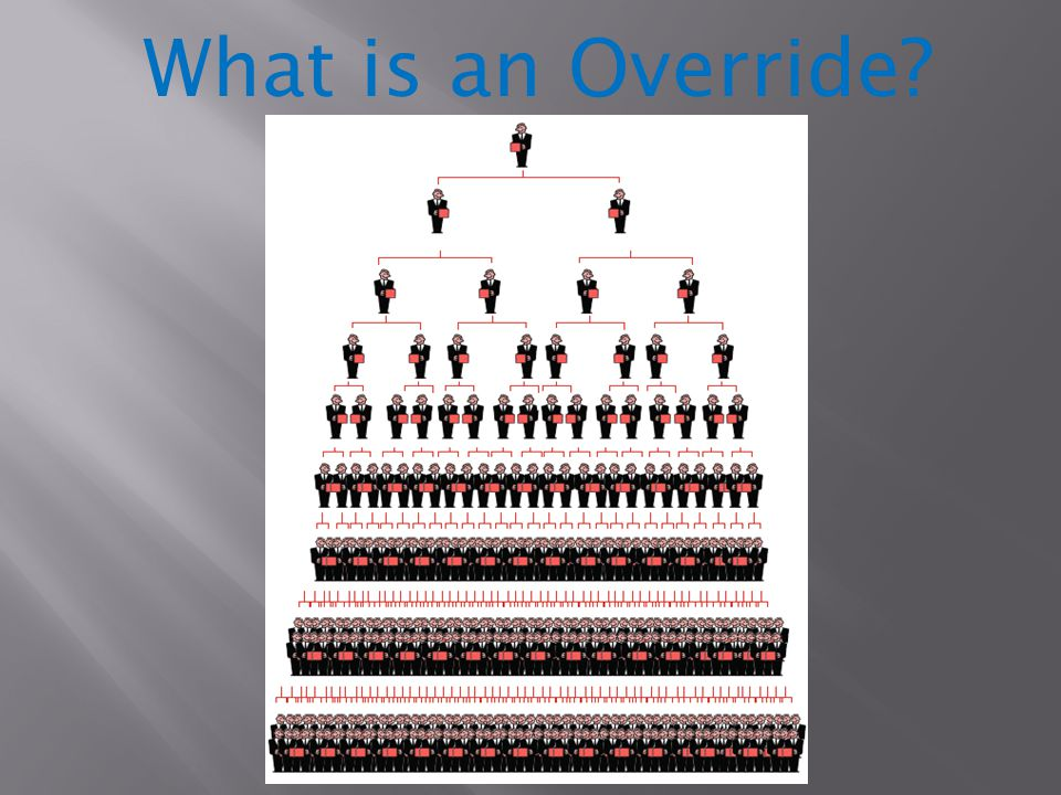 What is an Override