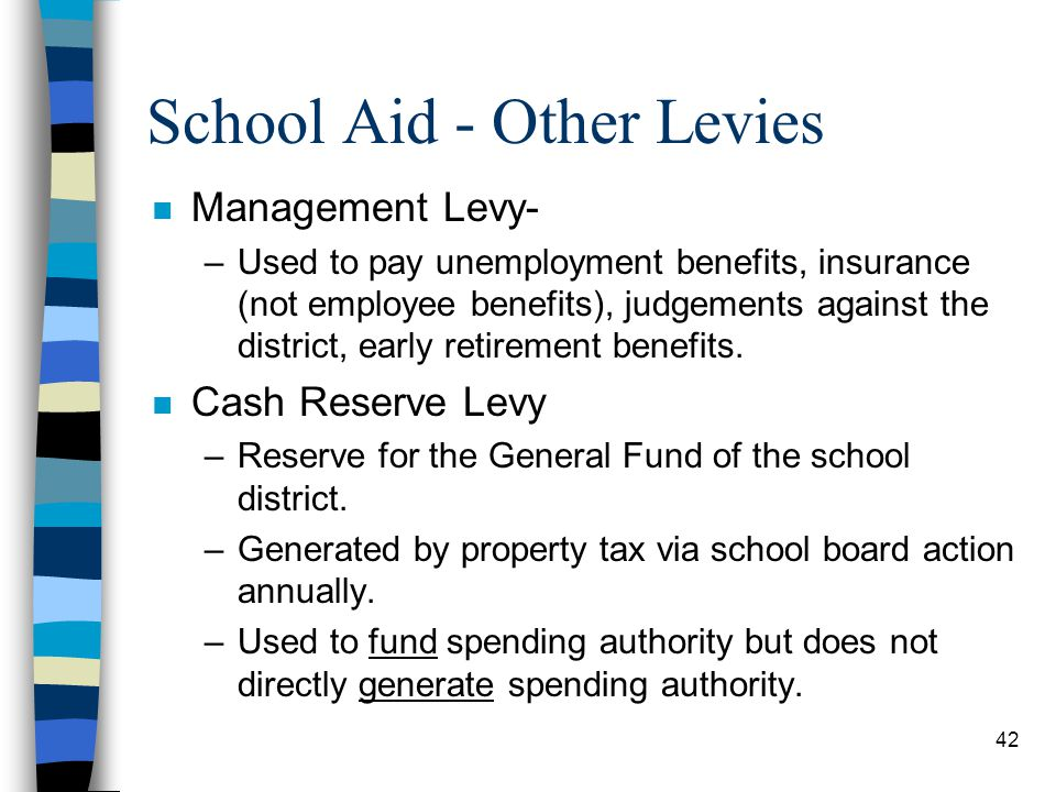 School Aid - Other Levies