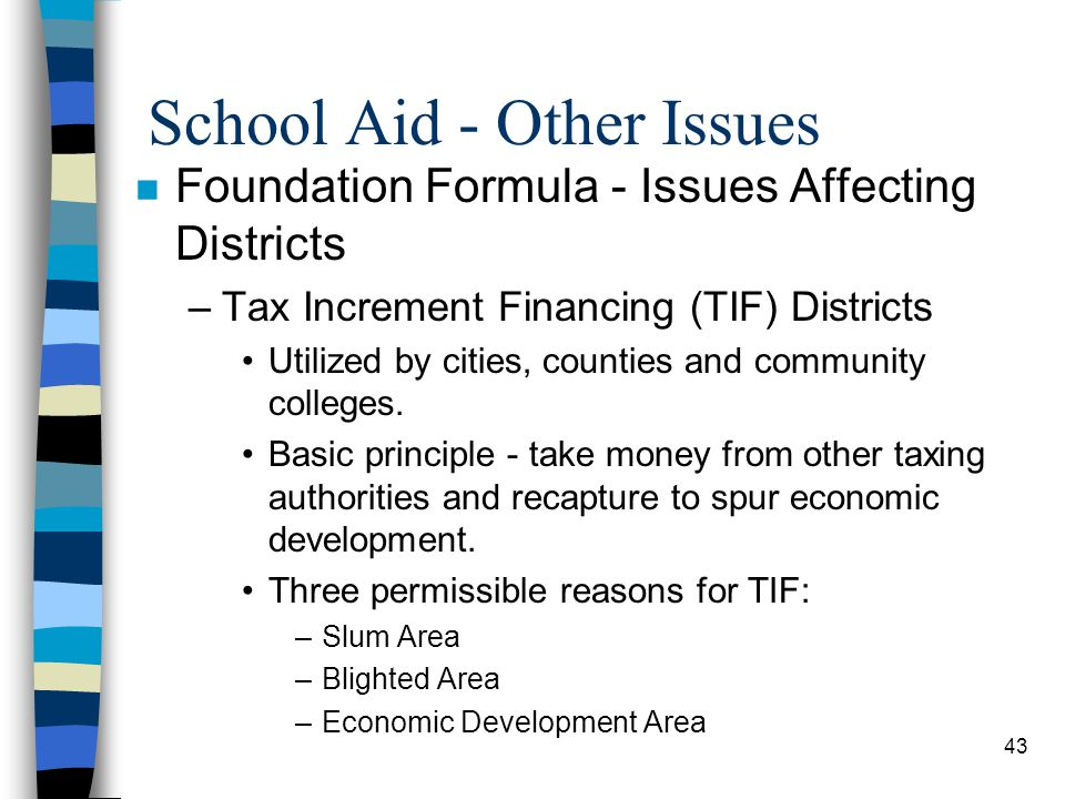 School Aid - Other Issues