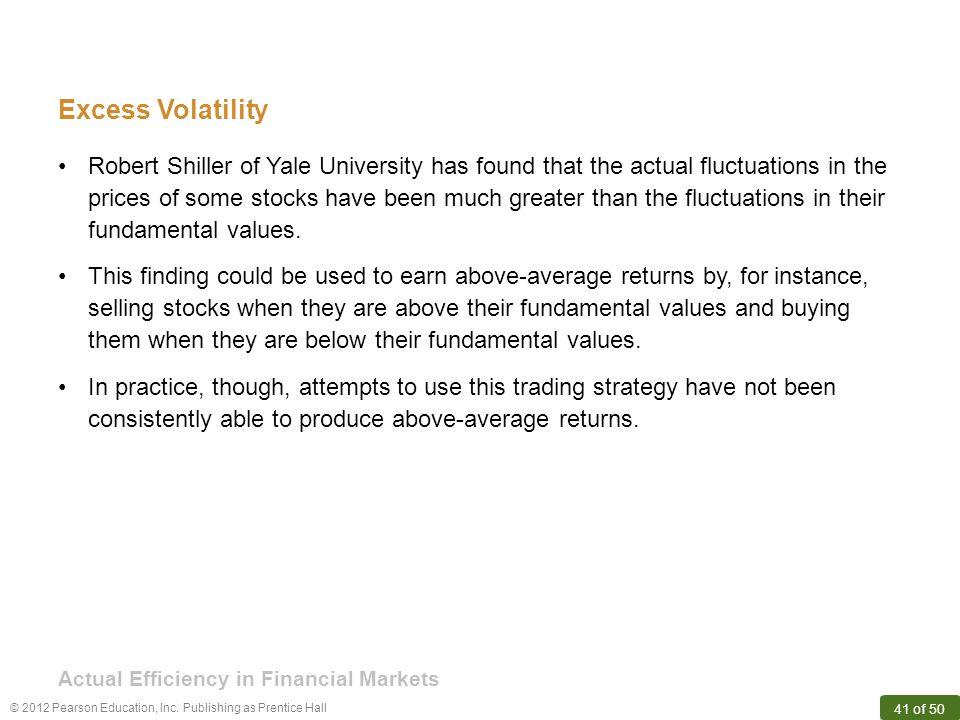 Excess Volatility
