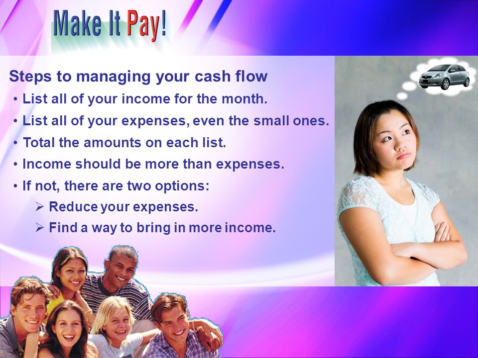 Steps to managing your cash flow