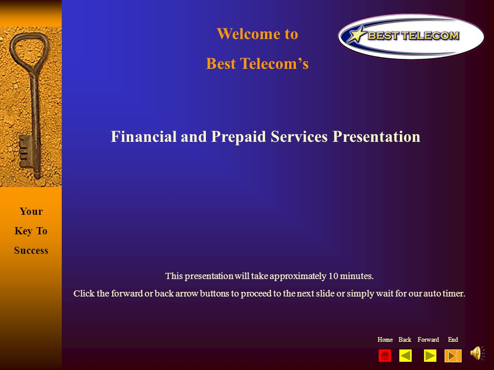 Financial and Prepaid Services Presentation
