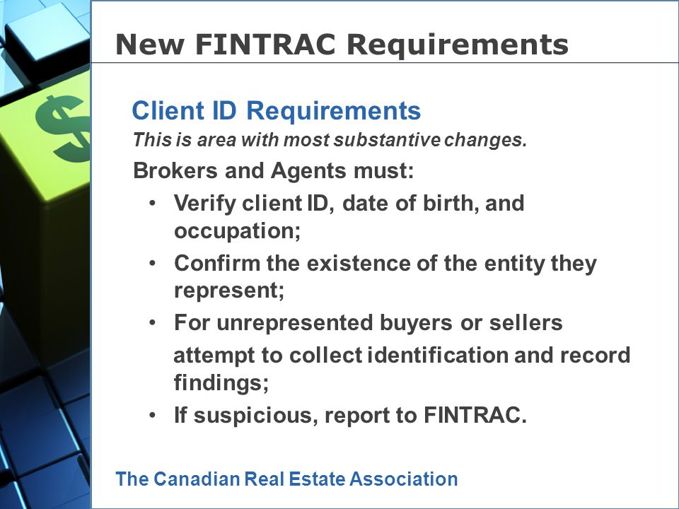 New FINTRAC Requirements