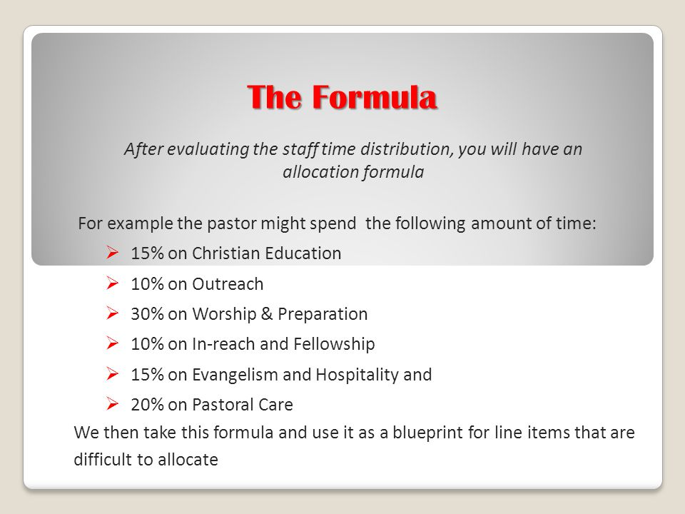Implementing the narrative budget in your church ppt video 19 the malvernweather Gallery