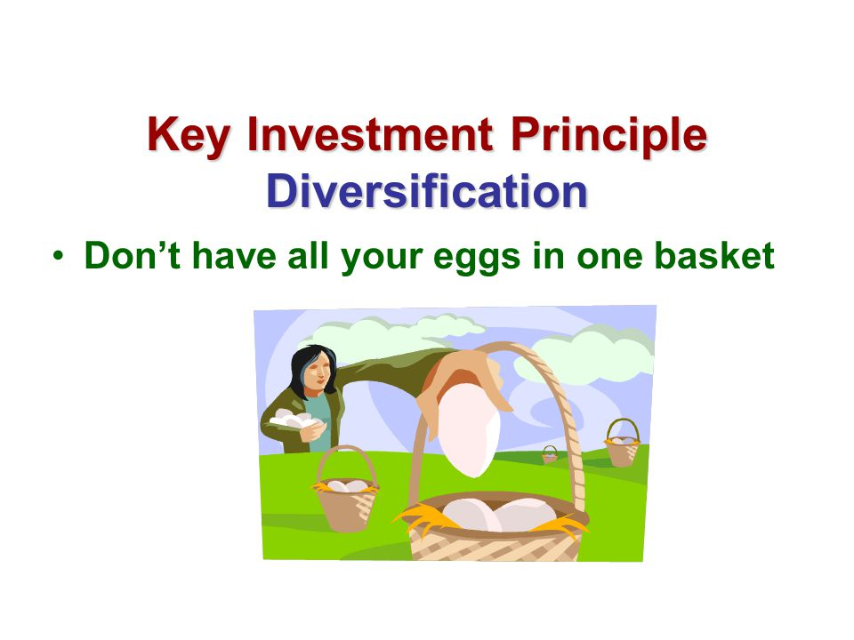 Key Investment Principle Diversification