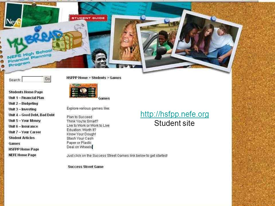 Student site