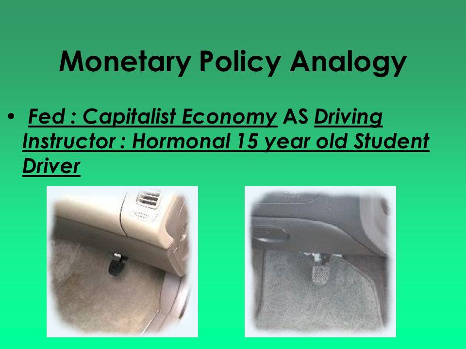 Monetary Policy Analogy