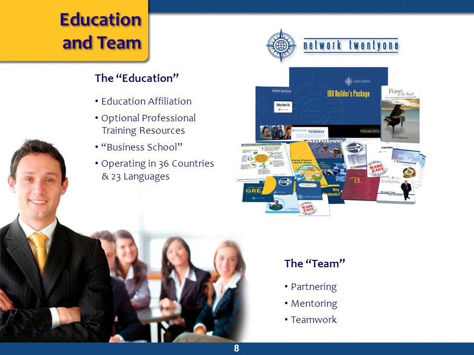 Education and Team The Education The Team Education Affiliation