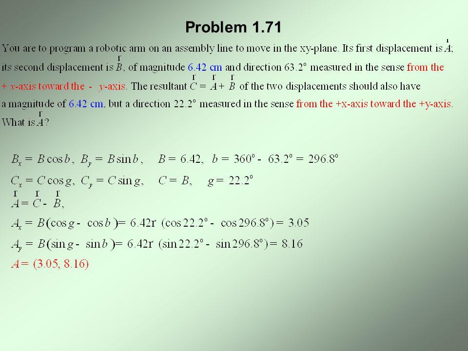 Problem 1.71