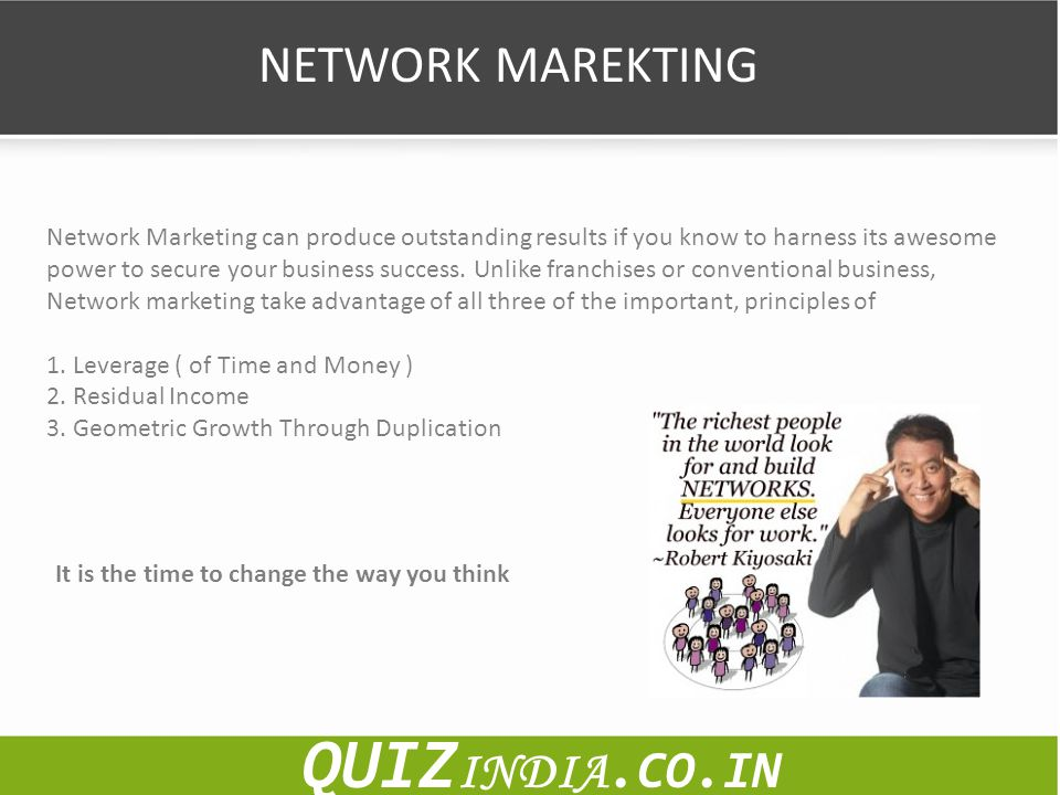QUIZINDIA.CO.IN NETWORK MAREKTING