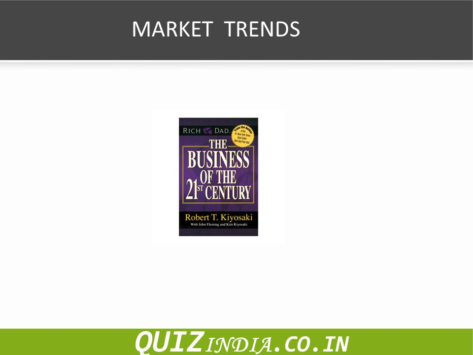 MARKET TRENDS QUIZINDIA.CO.IN
