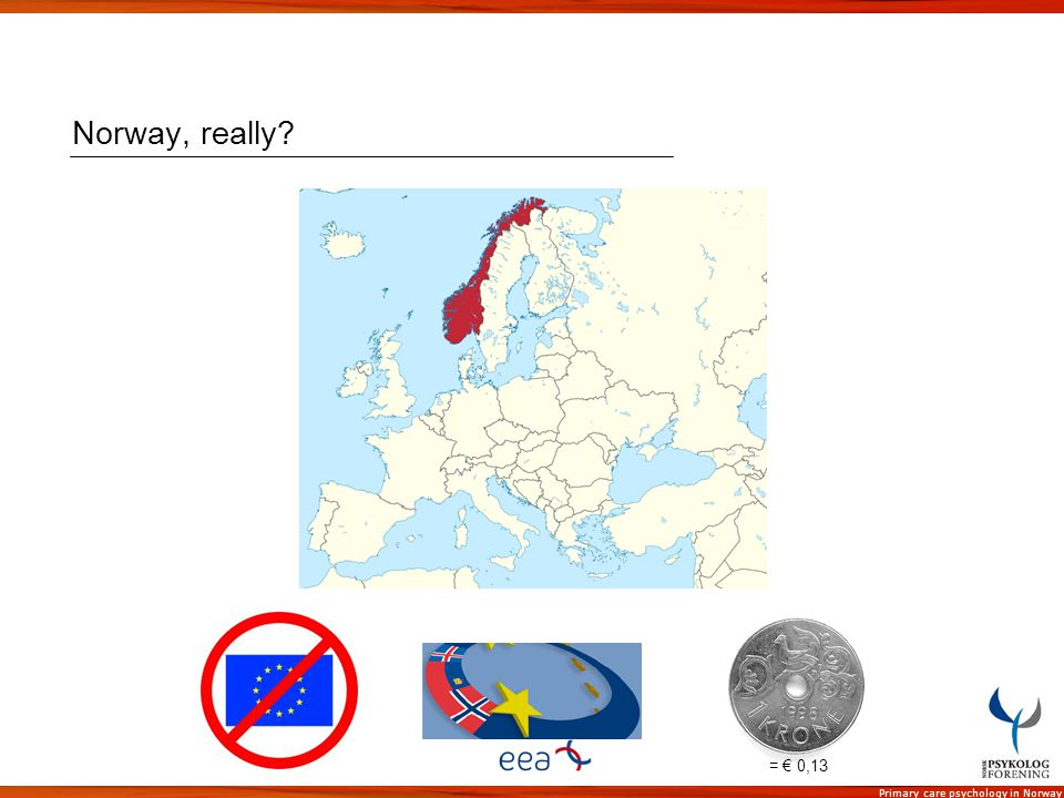 Norway, really = € 0,13
