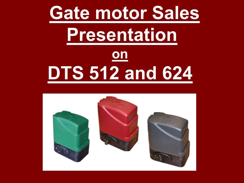 Gate motor Sales Presentation