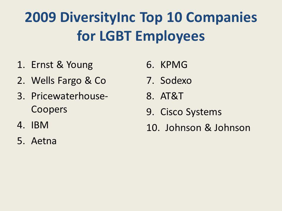 2009 DiversityInc Top 10 Companies for LGBT Employees