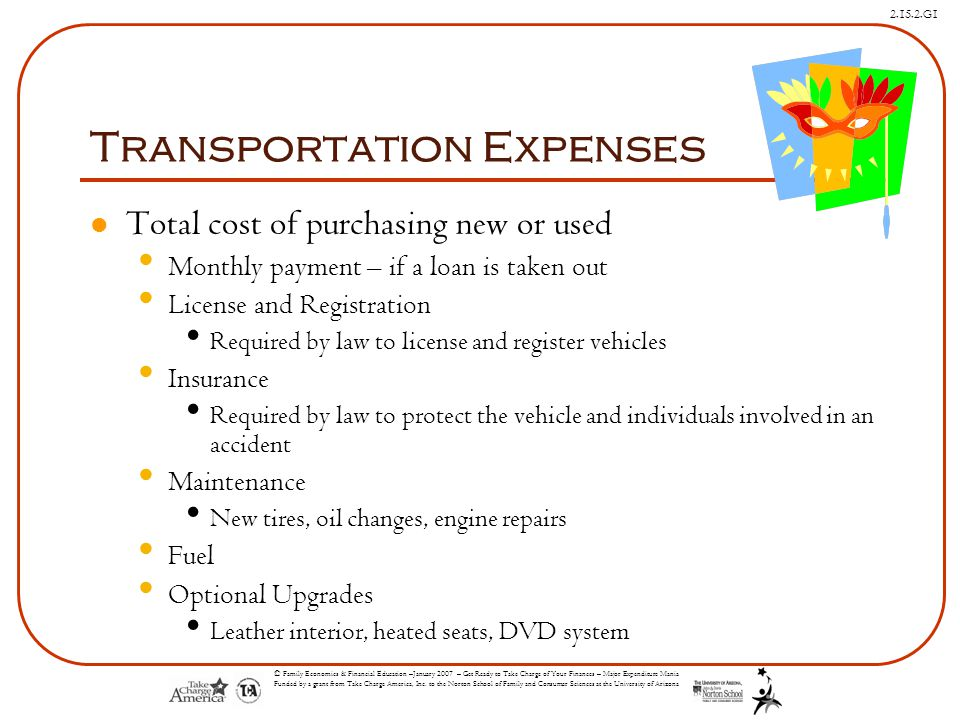 Transportation Expenses