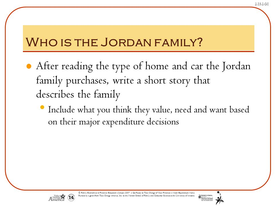 Who is the Jordan family