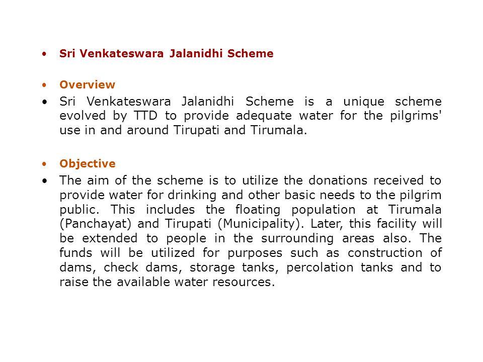 Sri Venkateswara Jalanidhi Scheme