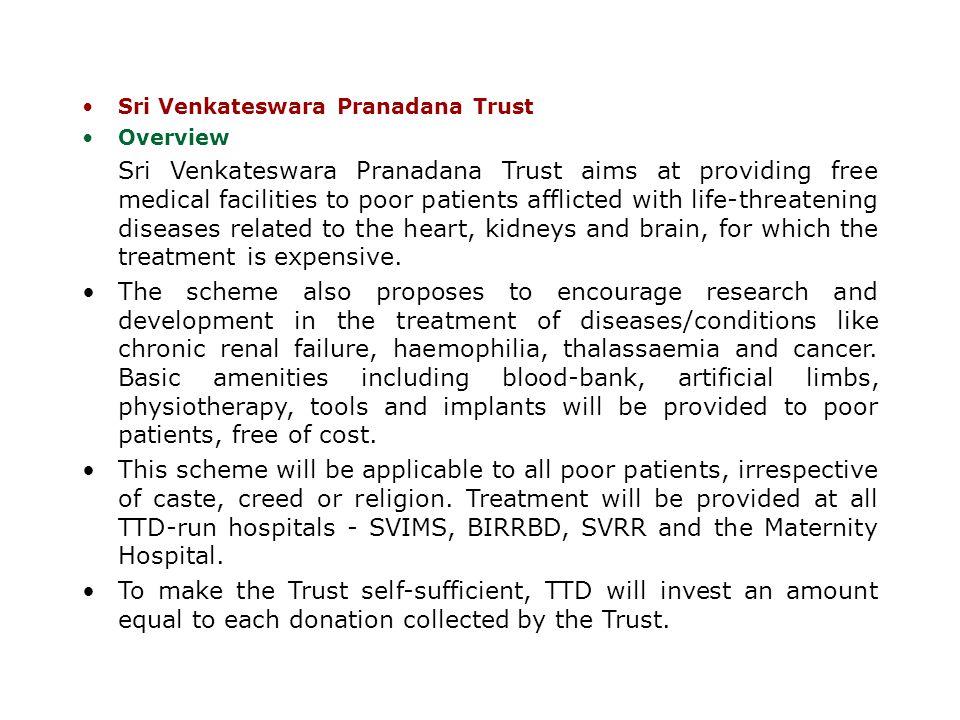 Sri Venkateswara Pranadana Trust