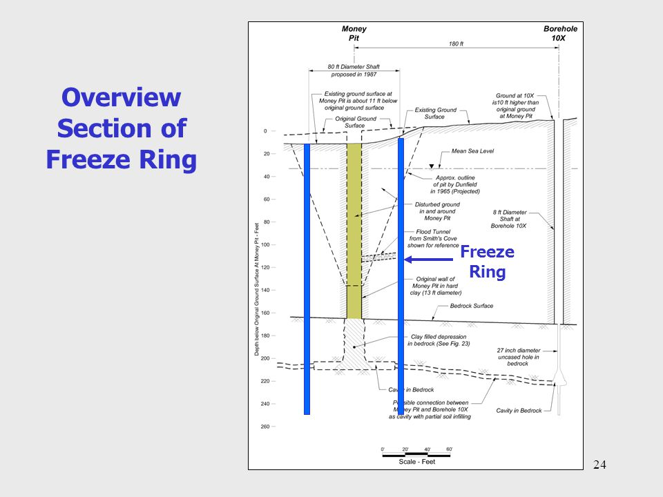 Overview Section of Freeze Ring
