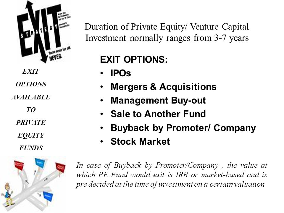 Selling private company stock options