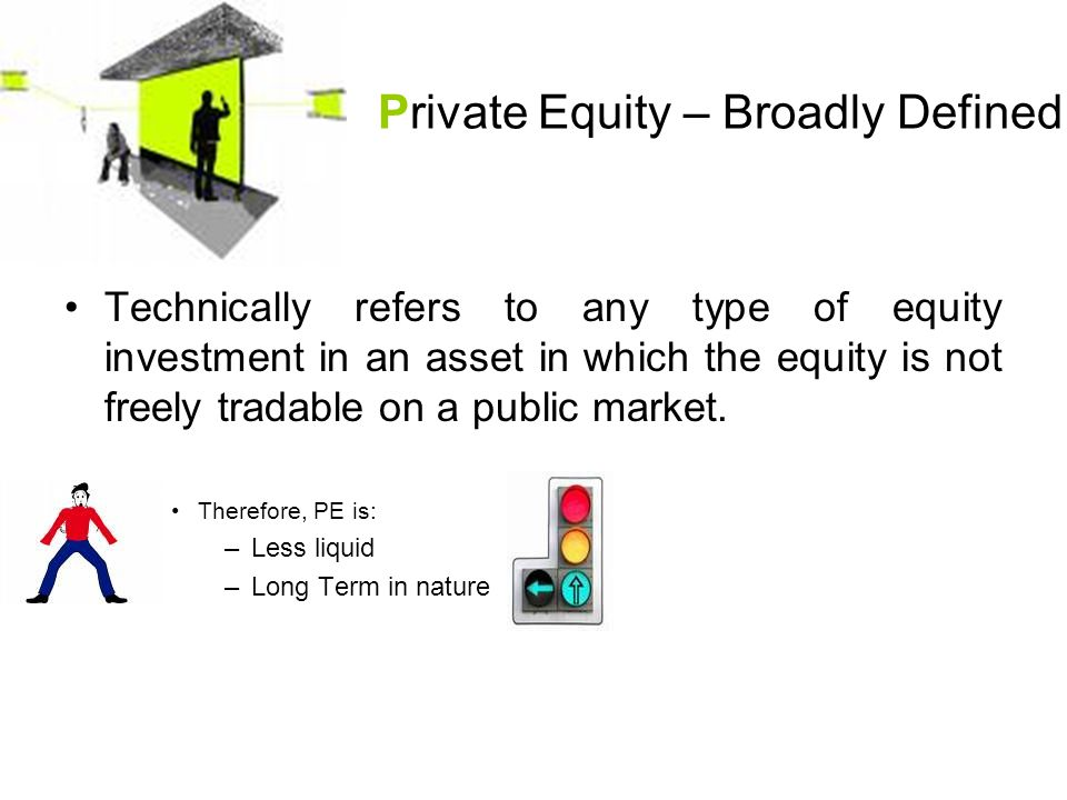 Private Equity – Broadly Defined