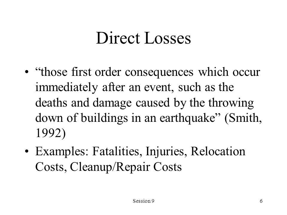 Direct Losses