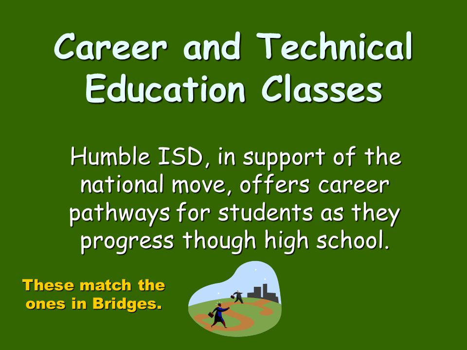 Career and Technical Education Classes